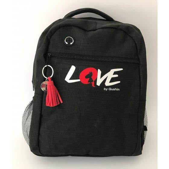 Backpack LOVE - black