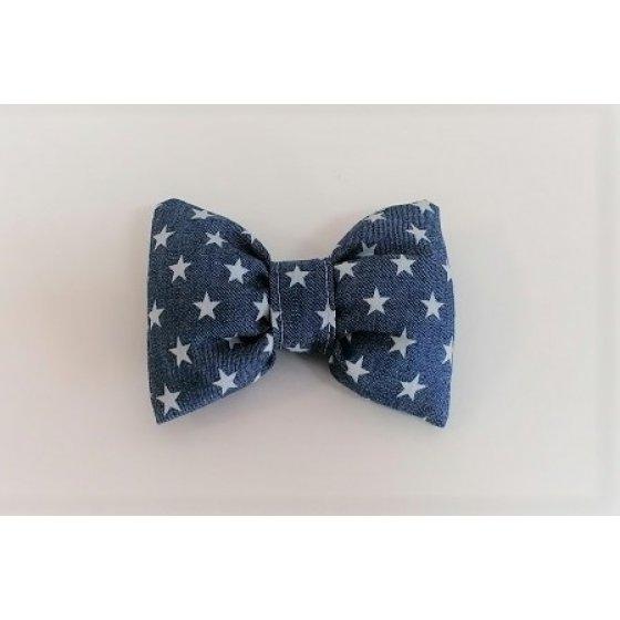 Bow Tie Star Denim