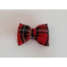 Bow Tie Red Tartan