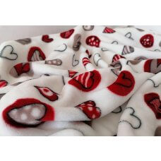 Blanket Snowflake Red